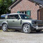 Land Rover Defender 130: новые изображения