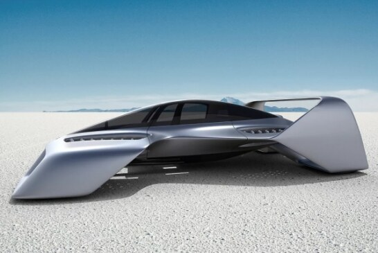 Летающий суперкар Leo Coupe от экс-дизайнера Mazda: 400 км/ч и гарантия мягкой посадки