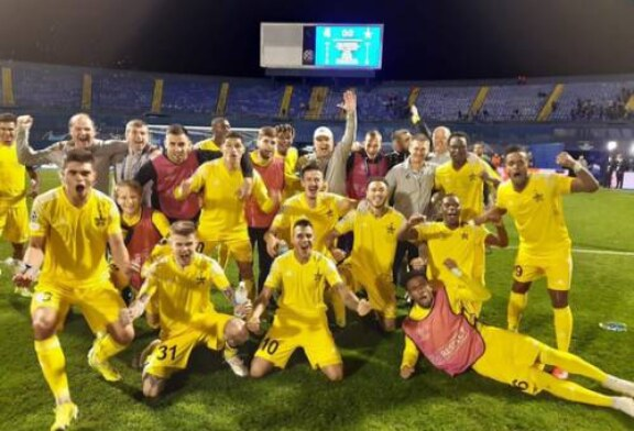 Приднестровский клуб «Шериф» вывел Молдавию в Лигу чемпионов исторической победой