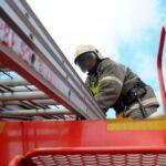 Общежитие Кузбасского технического университета загорелось в Кемерово