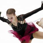 Российская фигуристка Трусова впервые прыгнула пять четверных перед судьями